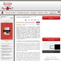 La naissance du « philanthreprenariat » - Village des Notaires, actualités, management et emploi en études notariales