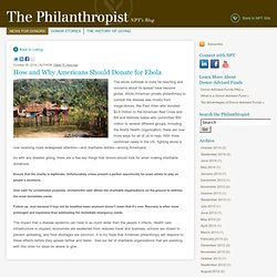 National Philanthropic Trust News and Commentary NPTrust