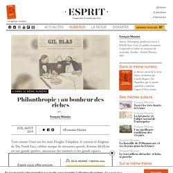 Philanthropie : au bonheur des riches