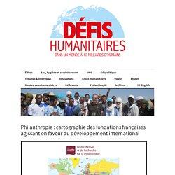 Philanthropie : cartographie des fondations françaises agissant en faveur du ...