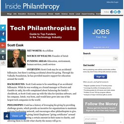Scott Cook - Tech Philanthropists