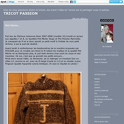 Phildar : TRICOT PASSION