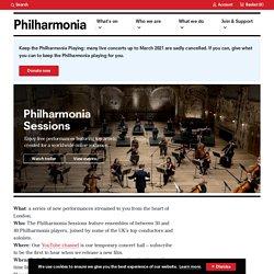 Philharmonia Sessions
