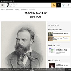 Portrait de Antonín Dvořák