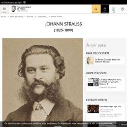 Portrait de Johann Strauss