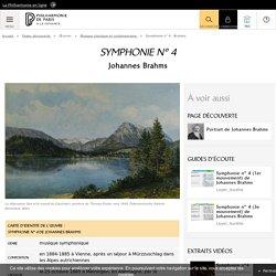 Symphonie n°4 de Johannes Brahms