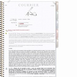 Philia [COURRIER]
