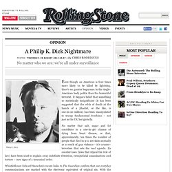 A Philip K. Dick Nightmare - Rolling Stone South Africa