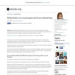 Philip Kotler: los 10 principios del Nuevo Marketing
