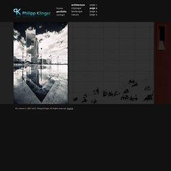 Philipp Klinger Portfolio - architecture