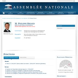 M. Philippe Briand : Assemblée Nationale