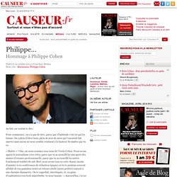 Philippe…