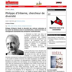 Philippe d'Iribarne, chercheur de diversité
