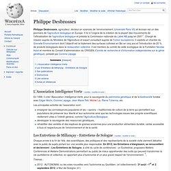 Philippe Desbrosses