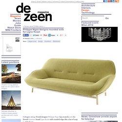 Philippe Nigro designs curvaceous sofa for Ligne Roset