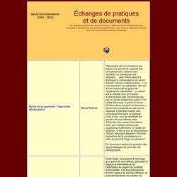 Philippe Meirieu : échanges de pratiques