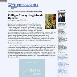 Philippe Muray : la gloire de Rubens