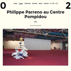 Philippe Parreno au Centre Pompidou