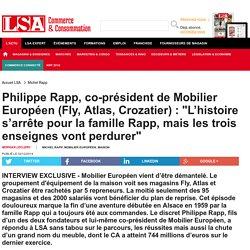 Philippe Rapp, co-président de Mobilier... - Marché maison