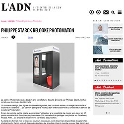 Actualités - Philippe Starck relooke Photomaton
