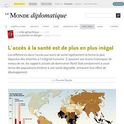 L'accès à la santé est de plus en plus inégal, par Philippe Rivière (Le Monde diplomatique, 2006)