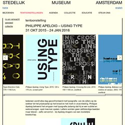 Philippe Apeloig – Using Type