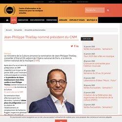 IRMA - Jean-Philippe Thiellay nommé président du CNM