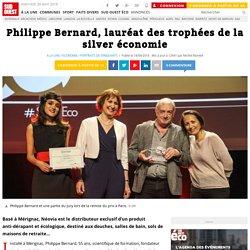 Philippe Bernard, lauréat des trophées de la silver économie
