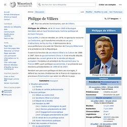 Philippe de Villiers - Wikipedia