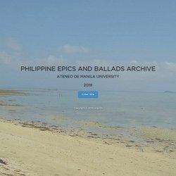 Philippine Epics and Ballads Archive