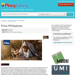 Friso Milk Powder in Philippines Business Local Directory