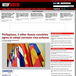 Philippines, 3 other Asean countries agree to adopt common visa scheme