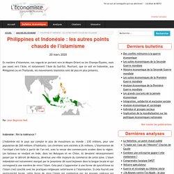 Philippines et Indonésie: les autres points chauds de l'islamisme - L'économiste