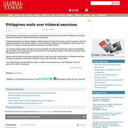 Philippines mulls over trilateral exercises