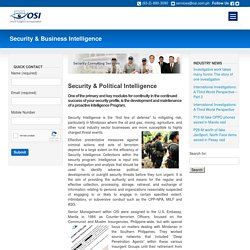 Philippines Security and Business Intelligence Agency - OSI