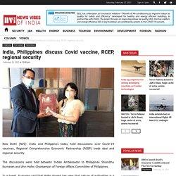 India, Philippines discuss Covid vaccine, RCEP, regional security