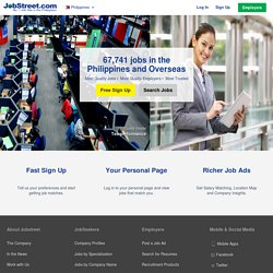 Jobs in Philippines, Job Search, Job Employment, Apply Job, Jobs in Manila, Work Abroad