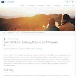 best hikes in the philippines