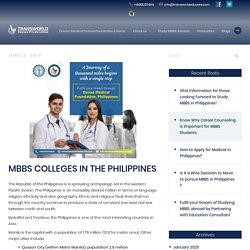 Why Philippines attracts the most medical students around the world? - Transworld Educare