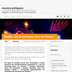 Le blog de Maxime Philippon : Lifestyle et Marketing