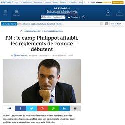 FN : le camp Philippot affaibli, les règlements de compte débutent