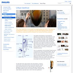 Design Probes - Urban beehive