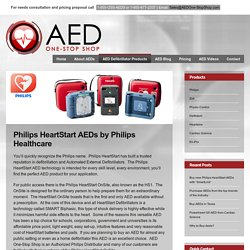 Philips HeartStart AEDs from AED One-Stop Shop