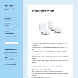 Philips HUE White – Domo Kitor