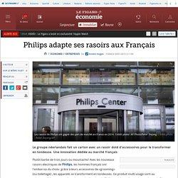 Philips adapte ses rasoirs aux Français