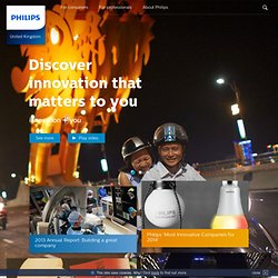 Philips UK: Electronics, Personal Care, Lighting and Medical sol