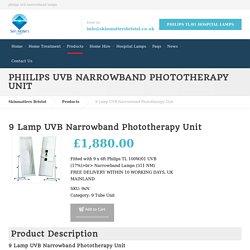 Philips uvb narrowband lamps