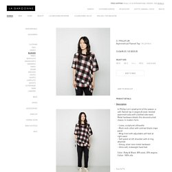 Asymmetrical Flannel Top