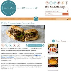Philly Cheesesteak Sandwiches Recipe