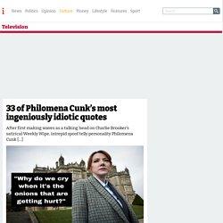 33 of Philomena Cunk's most ingeniously idiotic quotes